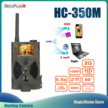 Hunting Trail Camera MMS GPRS Email Infrared wild camera GSM HC350M GPRS 16MP 1080P HC300M Night vision for animal photo traps цена 2017