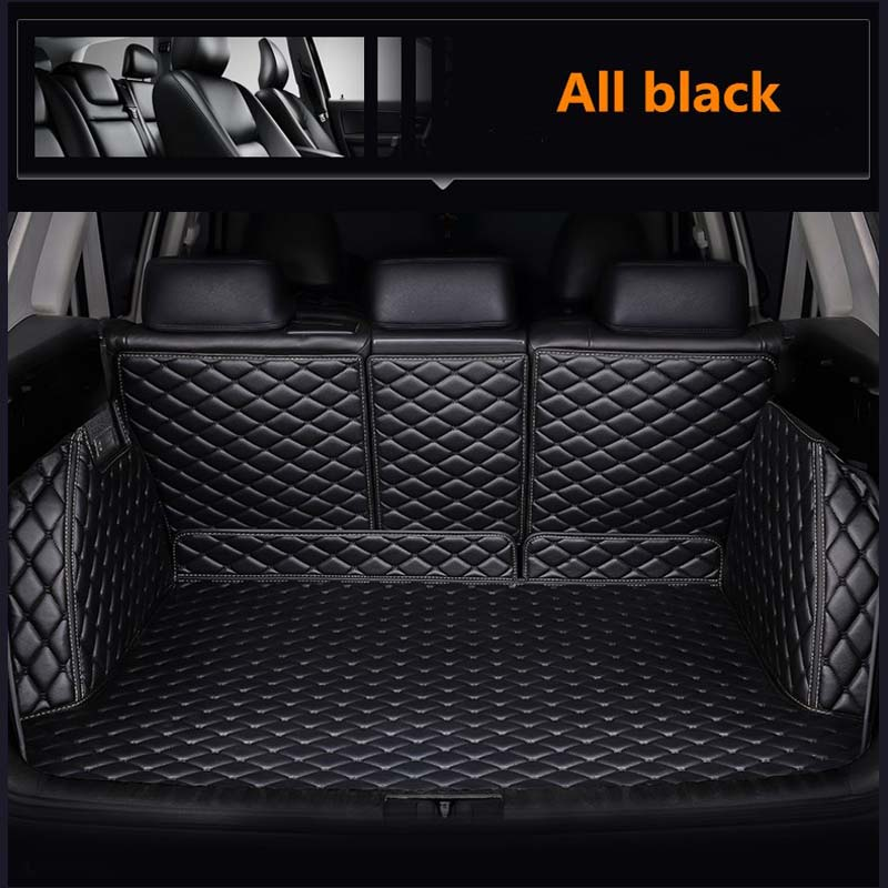 Car Trunk Mats for <font><b>BMW</b></font> <font><b>e30</b></font> e34 e36 e39 e46 e60 e90 f10 f30 x1 x3 x4 x5 x6 1/2/3/4/5/6/7 car cargo liner image