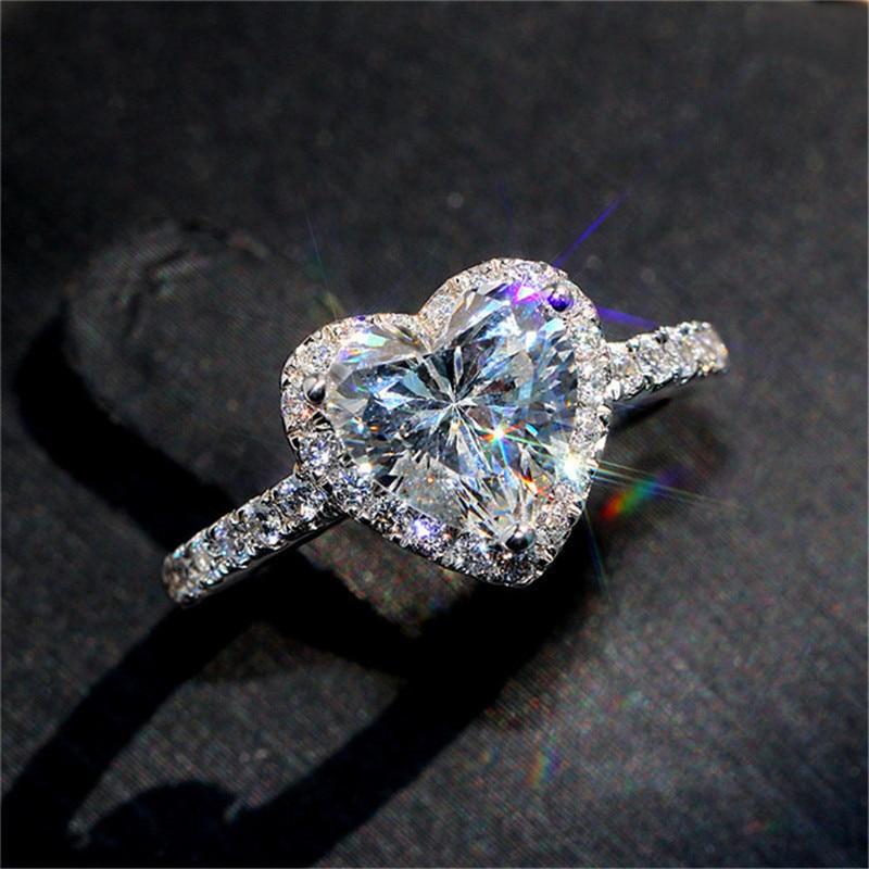 51 Styles Lab diamant promesse bague 925 en argent sterling fiançailles bague de mariage anneaux pour femmes hommes pierres précieuses fête bijoux cadeau 6