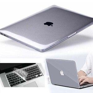 KK & LL для Apple MacBook Air Pro retina 11 12 13 15-прозрачная оболочка для ноутбука защитный чехол + крышка клавиатуры