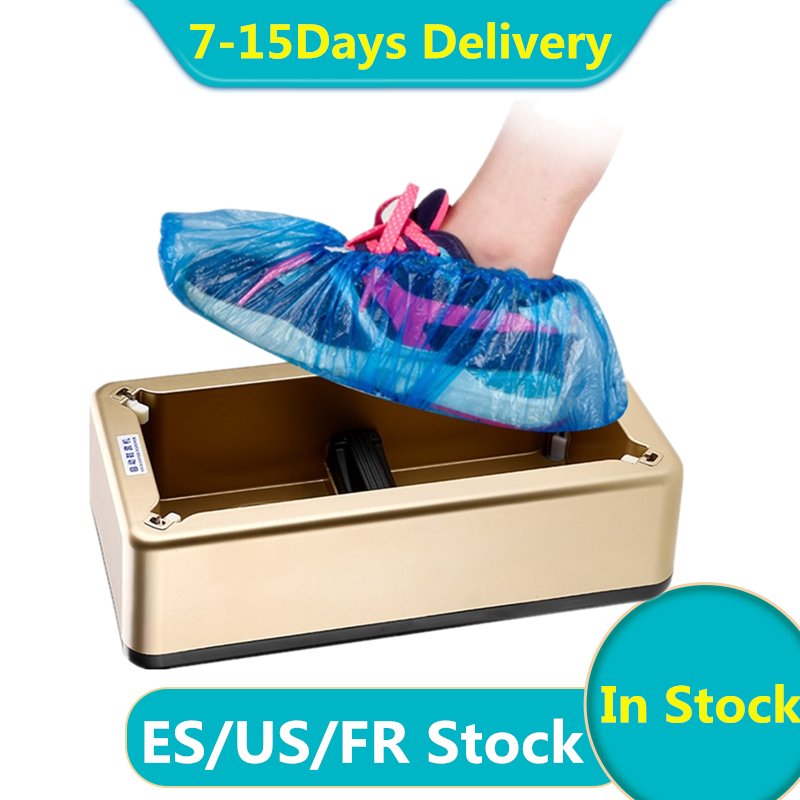 Automatic Shoes Covers Dispenser Machine Household Shoes Cover Orgainer Box Anti Droplet Dust Cleaner Shoe Cover Machines Holder