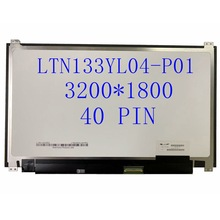 13.3 ''Laptop lcd led screen QHD 3200*1800 40PIN LTN133YL04-P01 LTN133YL06-H01 Für hp Laptop 3K BILDSCHIRM