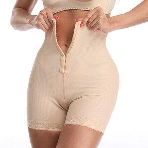 Image 1 - חדש גדול גודל מותניים מאמן ההרזיה Bodyshaper בקרת תחתוני Shapewear התפוצץ גבוהה Lap מותן גוף Shaper