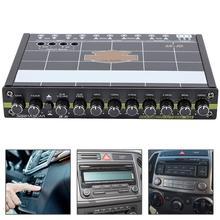 Автомобильный 7 полос аудио восстановление басов цифровой эквалайзер Аудио контроль JC-7D абсолютно высокое качество авто аксессуары автомобильный эквалайзер