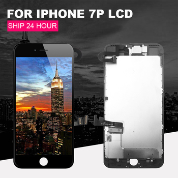 Suitable for iPhone 7 Plus LCD 5.5 touch screen and replaceable LCD full screen, equipped with front camera speaker + gift
