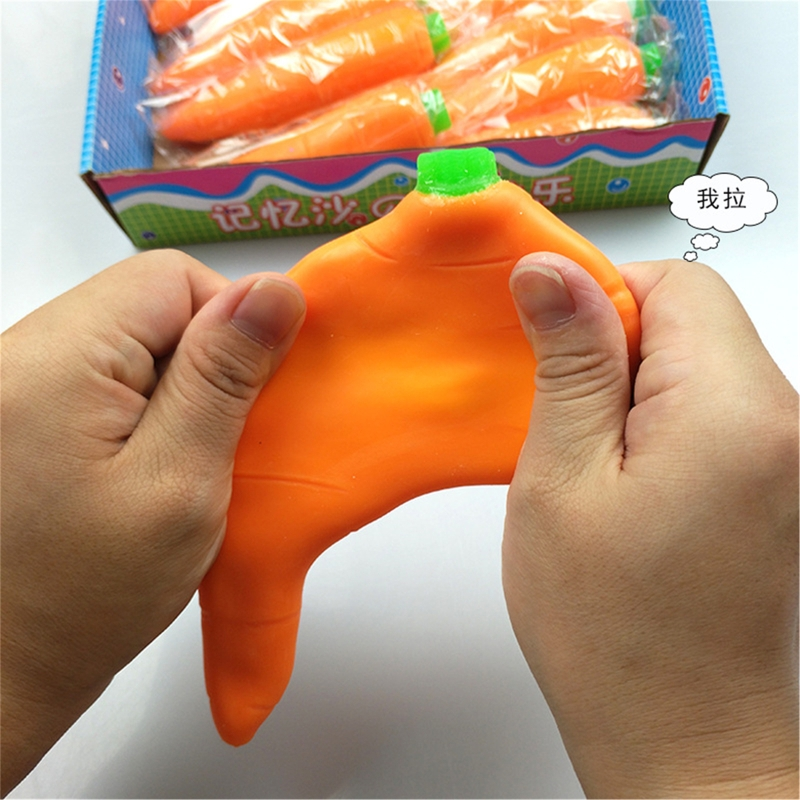 Toy Kids Fidget-Toys Squeeze-Toy Carrot Banana Stress-Relief Not-Squish Palythings Vegetable img4