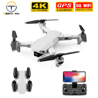 2020 NEW S103 Pro Drone With 4K Camera RC Quadcopter Drones HD 4K GPS 5G WIFI FPV Foldable Dron Helicopter Toy VS F3 S167 SG906