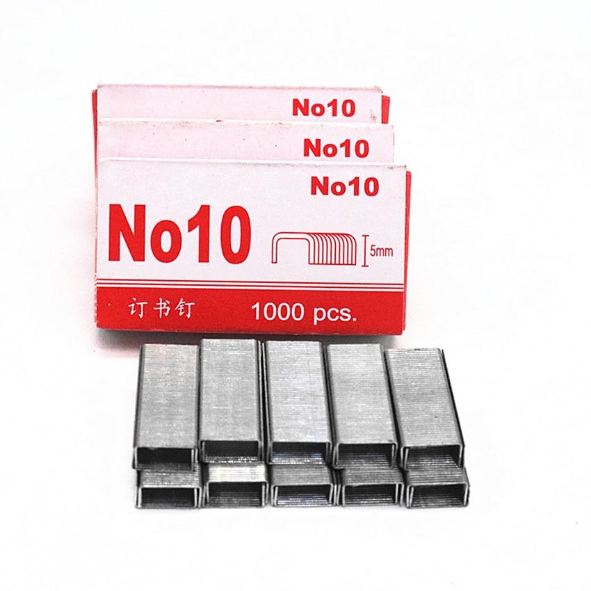 Standard Staples, Mini Paper Binding Staples No. 10 Staples, 5mm Height, 900 Per Box, For School Study Office Supplies