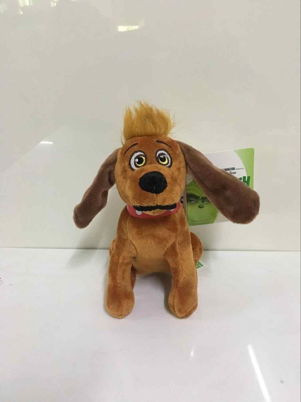 18-32cm Grinch Stole 영화 젊은 Grinch 콩 산타 인형 박제 동물 인형 수집 장난감 크리스마스 선물