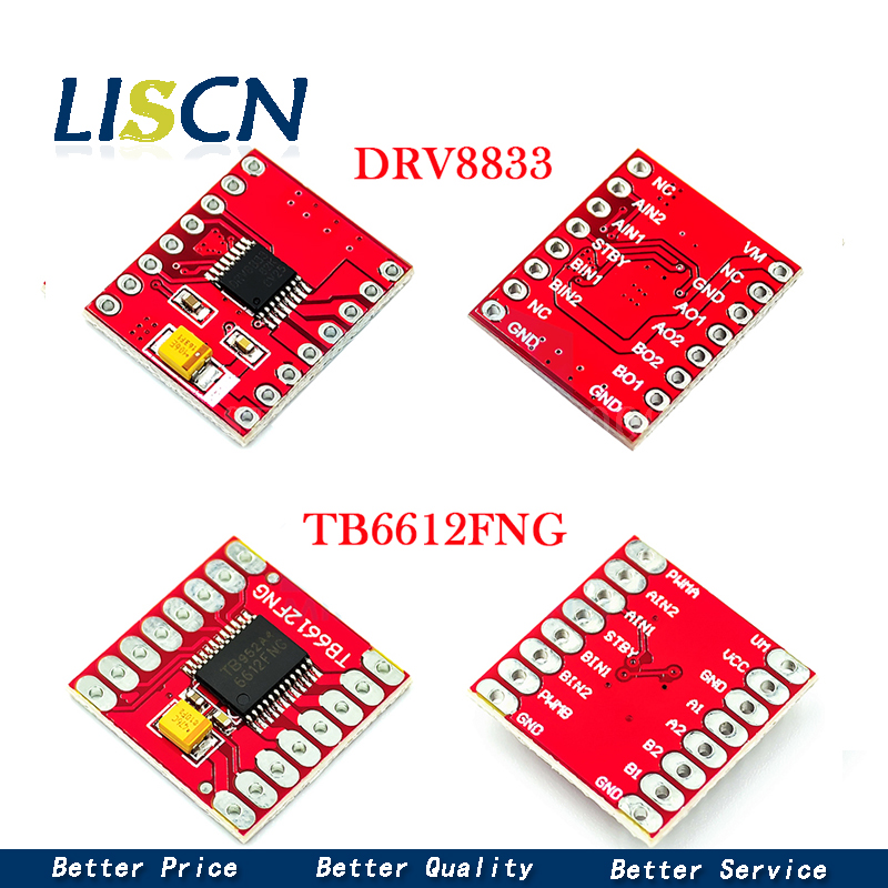 TB6612FNG Motor Drive Board Module Small Size High Performance Super L298N Self-balancing Trolley 3PI Supporting DRV8833