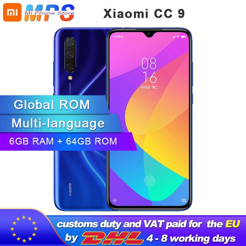 Купить Xiaomi Mi CC9 смартфон 6 ГБ 64 Гб Snapdragon 710 Octa Core 6,39