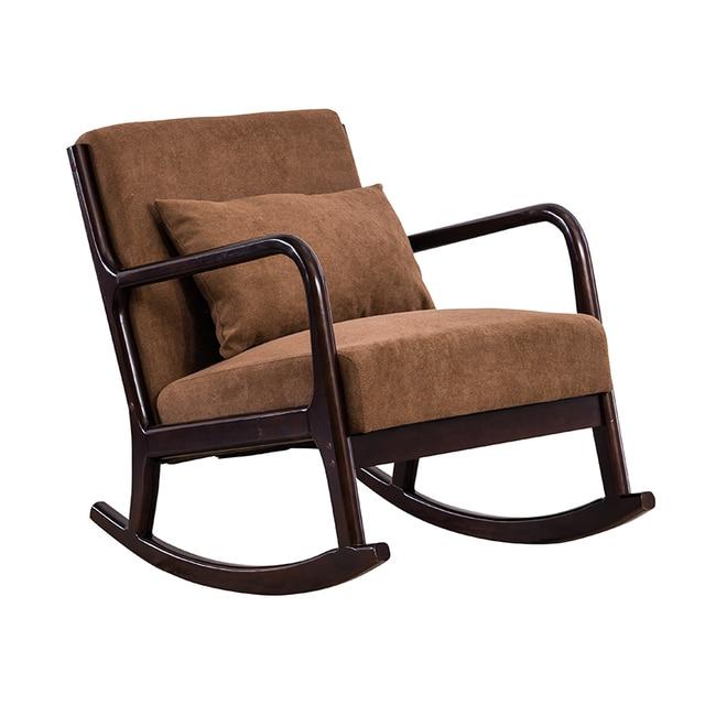 Hardwood Rocking Armchair  4