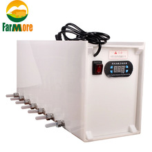 220V Intelligent Thermostat Nursing Nipple Automatic Piglet Milk Feeder  with 14pc pacifiers