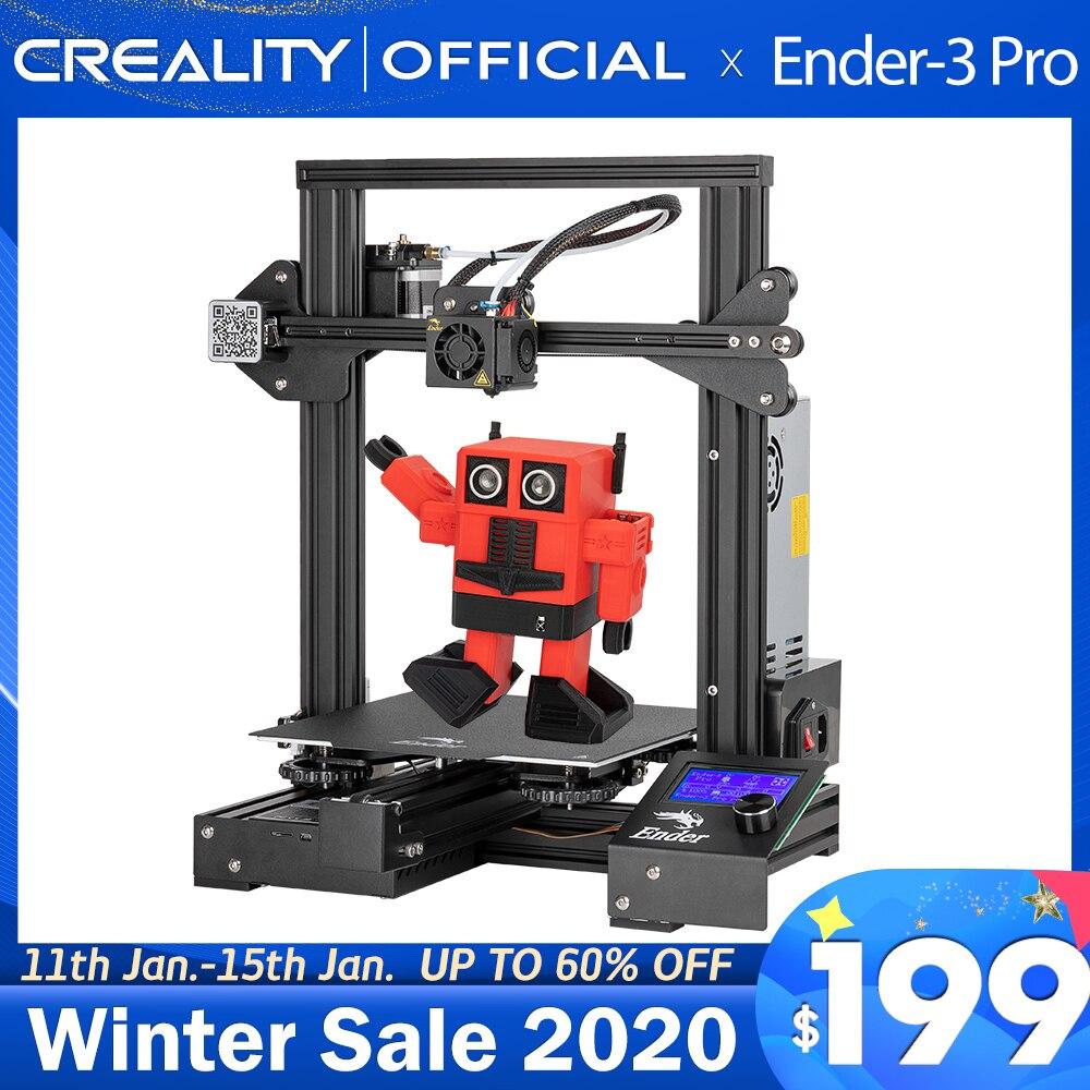 CREALITY 3D Ender-3 профессиональный принтер печати маски Магнитный алюминиевая плита горячего отжига возобновить Мощность отказ Печать комплект ...