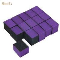 100pcs Lixa de Unhas Profissional Mini Esponja Dicas 60/60/80 Cuidados Ferramentas Para DIY Salon Manicure Polimento arquivos Da Arte Do Prego de moagem