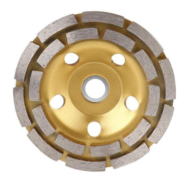 Diamant Segment Schleifen Rad Tasse Disc Grinder Beton Granit Stein Cut