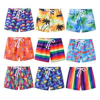 strong Import List strong 2020 nowe letnie spodenki do pływania dla dzieci chłopcy stroje kąpielowe dla dziewczyn maluch dzieci modny nadruk stroje kąpielowe strój kąpielowy krótkie spodnie plażowe 2-7T tanie i dobre opinie CINESSD POLIESTER CN (pochodzenie) szorty Dobrze pasuje do rozmiaru wybierz swój normalny rozmiar PF0252 Na co dzień