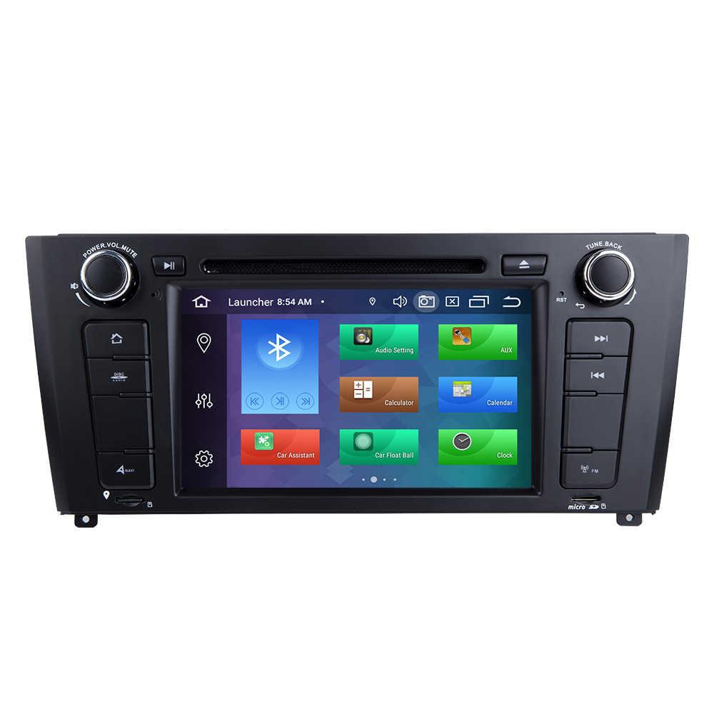 IPS DSP 1 Din Android 10 Radio samochodowe DVD dla BMW serii 1 e87 E88 E82 E81 I20 nawigacja multimedialna GPS stereo 4GB 64G Qcta rdzeń