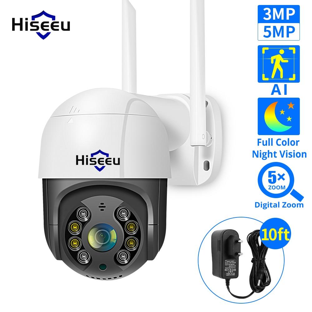 Hiseeu 2MP 3MP 5MP Speed Dome Wireless WIFI Camera 2MP 3MP Outdoor 5x Digital Zoom PTZ IP Camera Audio CCTV Surveillance|Surveillance Cameras| - AliExpress