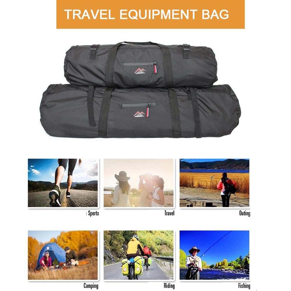 Multi-function Large Capacity  Easy To Carry Folding Tent Bag Travel Bag Waterproof Travel Outdoor Sports Equipment Bag
