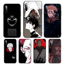 New Anime Jujutsu Kaisen Phone Case For Samsung S note S10E 6 7 8 9 10 20 plus edge lite Cover Fundas Coque