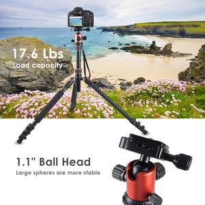 Image 5 - ZAYEX trípode profesional para cámara de viaje, monopié de aluminio ligero y portátil para cámara digital SONY Canon DSLR