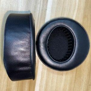 Image 5 - Угловые круглые наушники из овчины 100 мм для Сибири для наушников Beyerdynamic, амбушюры из высококачественной кожи, перфорированные мягкие амбушюры с эффектом памяти