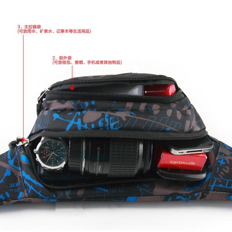 Outdoor Sport Waist Bag Men And Women Large Capacity Mobile Phone Waist Bag Mountain Climbing Yoga Waist Pack Multi-functional S