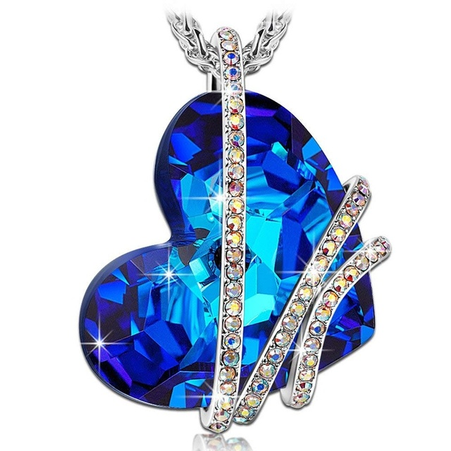 Women Wedding Titanic Ocean Crystal Jewelry