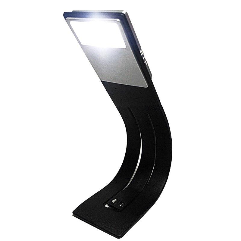 Usb led reading book light detachable flexible clip USB charging light for Kindle e book reader WWO66 in Book Lights from Lights Lighting