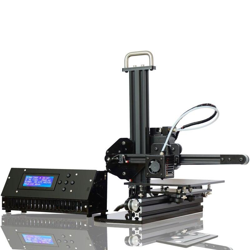 Tronxy 3d printer High Precision DIY kit desktop aluminium profile 3d Imprimante 150*150*150mm 3d  принтер 1