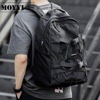 MOYYI модный легкий спортивный рюкзак для мужчин и женщин простой модный стиль противоугонные сумки для книжный пакет