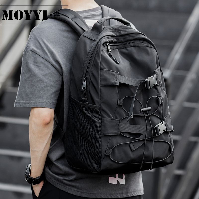 MOYYI Fashion Lightweight Sports Backpack For Men And Women Simple Fashion Style Anti-Theft Bags For Book Pack