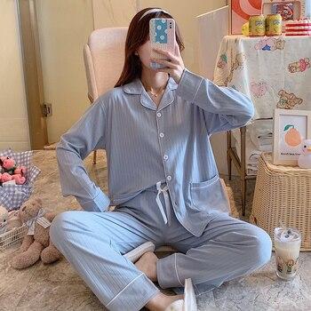 Toppies Casual Pajamas Set Shirts and Pants Japan Cute Sleepwear Women Two Piece Set Bow Waist