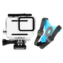 Holder Anti Slip Motorcycle Helmet Use Adjustable Stand Camera Accessories Adapter Chin Mount Bracket Front for GoPro Hero 7 5(China)