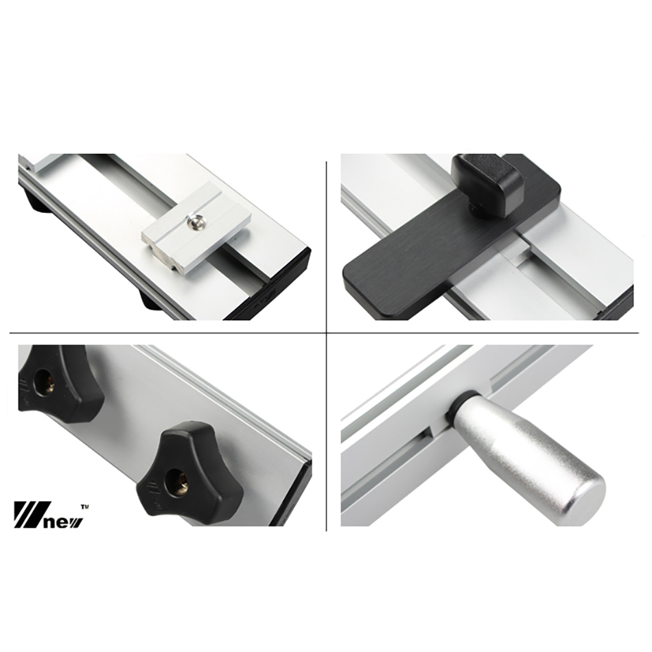 Tools : New Double-layer Guide Rail Right 90 Degrees Angle Cutting accessories Woodworking DIY Tools