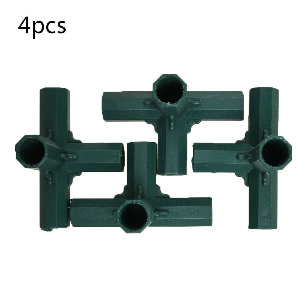 Green Connector Greenhouse Joints Plastic Structure Accessories Adapter