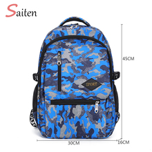 Waterproof Oxford Women Printed Backpack Multiple Pockets School Bags For Teenagers Girls Backpacks Woman Camouflage