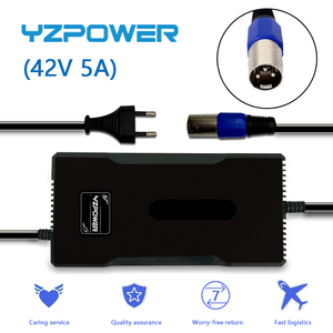 YZPOWER 36V 8AH 10AH 20AH li-ion battery pack electric Scooter universal 42V 5A lithium battery charger(China)