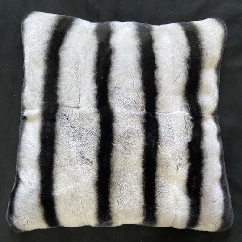 rex chinchilla pillow cover 0