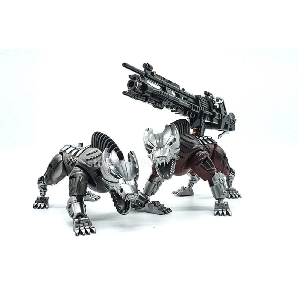 Image 3 - VT Action Figure Toys VT 01 VT01 Metal MP Bounty Hunter UT Confinement Two Hunting Dogs Sports Car Deformation TransformationAction & Toy Figures   -