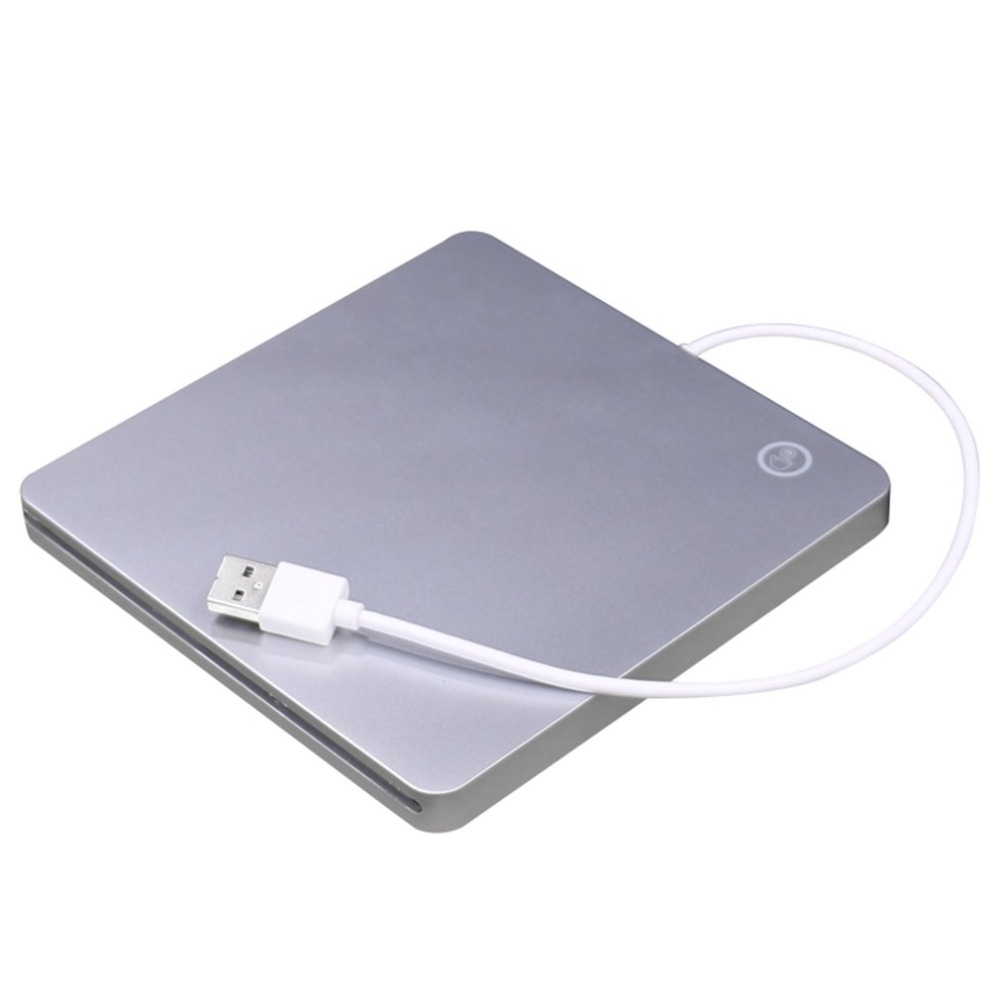 USB External Slot DVD CD RW Drive Burner Super Slim Drive Mobile External DVD Drive For Apple For Mac Book Pro Air