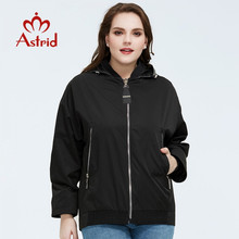 Women Coat Astrid Outwear Hooded Spring Female Fashion High-Quality New Casual Short