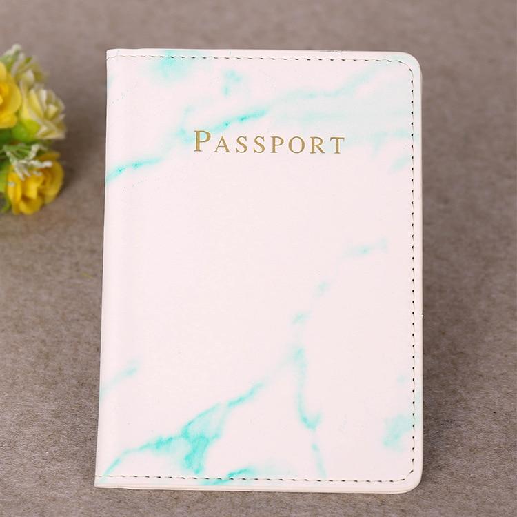 Hcff22c491e684634be003e15b96a2ee9j Marble Style Passport Holder Wallet