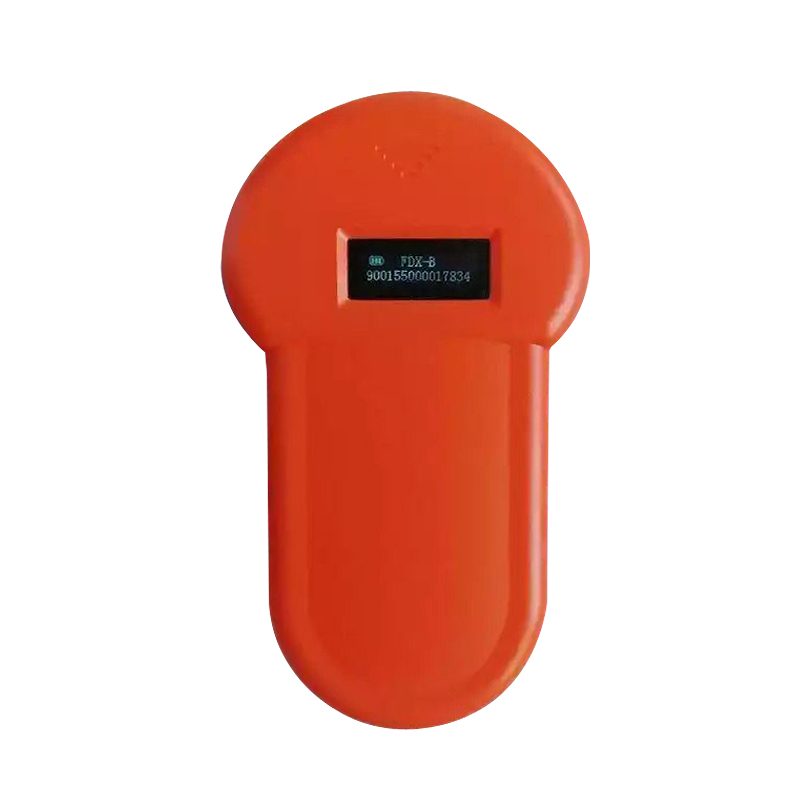 NEW Product Portable OLED Display RFID ISO11784_11785 134.2Khz FDX B Microchip Reader Scanner For Dog Or Cat