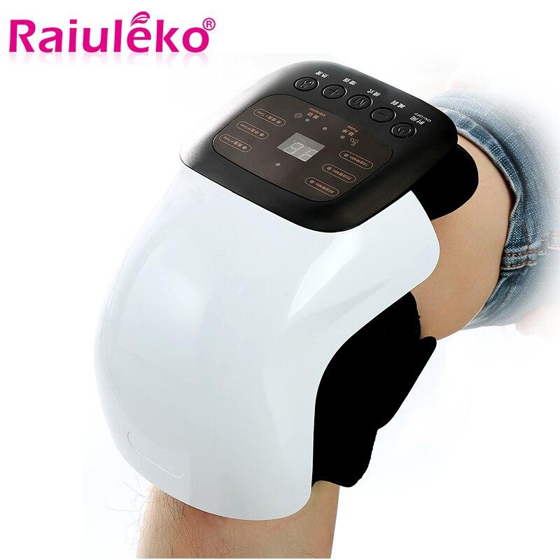 1pcs Inteligente Joelho Instrumento Infravermelho Vibração Aquecida Terapia Acupuntura Massager Alívio Da Dor Reumática Artrite Osteoartrite