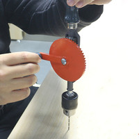 Halbautomatische Hand Bohrer Leistungsstarke Manuelle Push werkzeug 1/4 Spirale chuck Twist Bohrer carbon stahl loch sah DIY Holzbearbeitung Liefert
