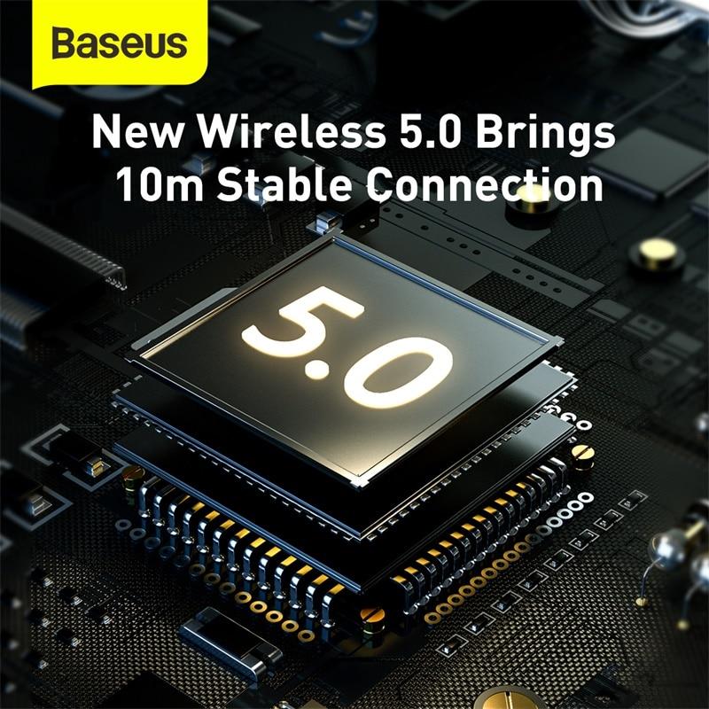 Baseus D02 Pro Wireless Headphones Sport Bluetooth 5.0 Earphone Handsfree Headset Ear Buds Head Phone Earbuds For iPhone Xiaomi