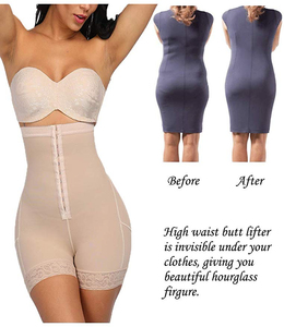 Image 3 - Control Panties Corset Body Shaper High Waist Slimming Tummy Control Slimming Underwear Hip Butt Lifter Shaperwear Plus Size