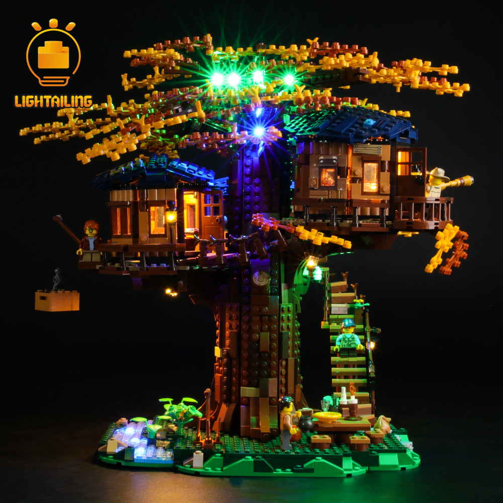 LIGHTAILING LED Light Kit For Ideas Series 21318 Tree House Lighting Set (NOT Include The Model)